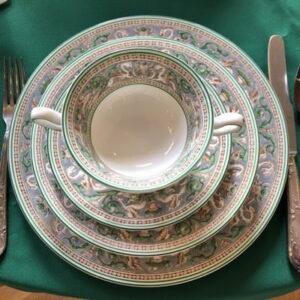 wedgwood florentine green