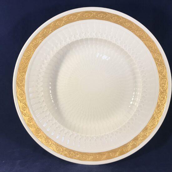 Royal Copenhagen 'Gold Fan' set borden