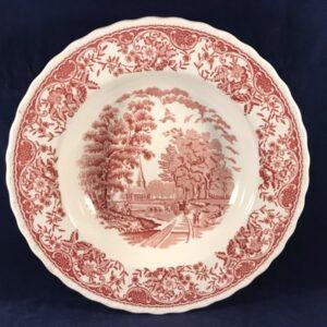 Royal Tudor ware ' olde england' diep bord